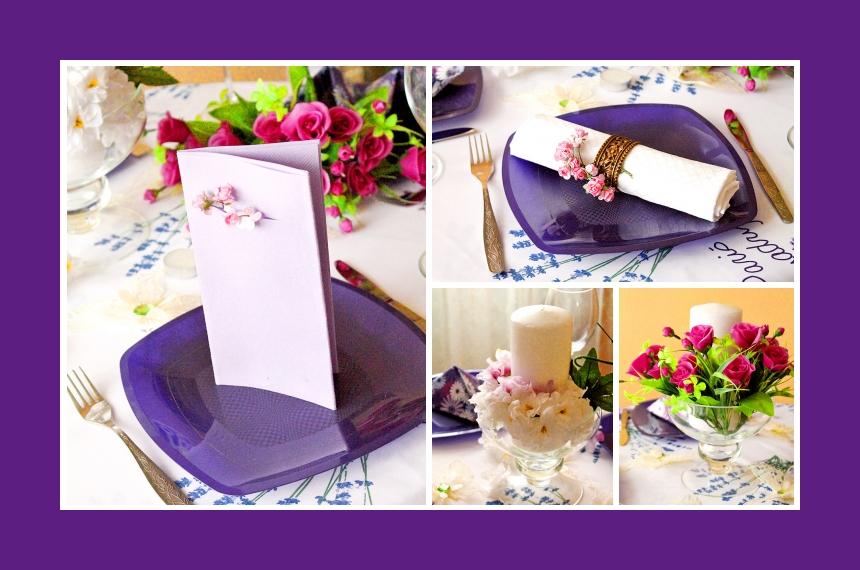 Deko Idee Hochzeit Einladungskarte Serviettendeko